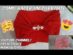 how to make a turban, como hacer un turbante + turbante para bebe y mamá - YouTube