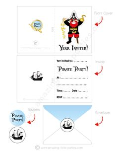 26 Images of Pirate Invitations Template Free Printable Of The Caribbean . Find images about Pirate Pirate Birthday Invitations, Birthday Cards, Pirate Party Decorations, Pirate Names, Printable Invitations, Invitation Set, Printables, Pirates, Kids