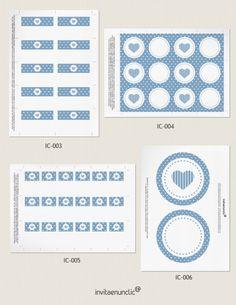 Colección de imprimibles Topos para comunión   Invitaenunclic