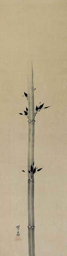 Shokado Shojo, Hanging-scroll brush painting
