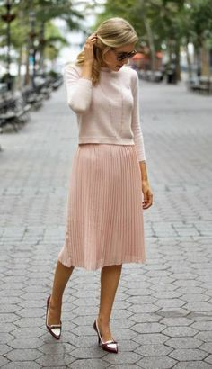 Pastels And Pleats