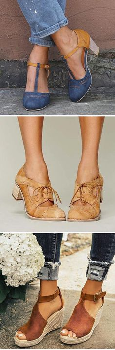 GiftHerShoes offers a wide selection of trendy fashion style women's shoes, clothing. Affordable prices on new shoes, tops, dresses, outerwear and more. Fashion Shoes, Fashion Outfits, Womens Fashion, Professional Wardrobe, Summer Sandals, Me Too Shoes, Fashion Brands, What To Wear, Shoe Boots
