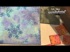 CAS Christmas Cards: One Technique Three different Ways - YouTube