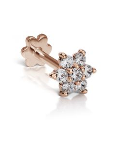 5.5mm Diamond Flower Threaded Stud (Conch) Image #1