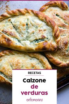 Receta de calzone de verduras Learn to prepare from with this Vegetarian Recipes, Cooking Recipes, Healthy Recipes, Deli Food, Salty Foods, Foods With Gluten, Low Calorie Recipes, Food Inspiration, Healthy Snacks