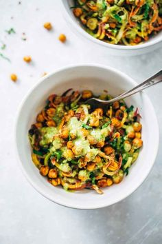 Vegetarian Rainbow Power Salad with Roasted Chickpeas