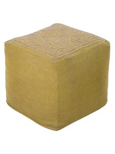 Atlas Pouf by Surya at Gilt