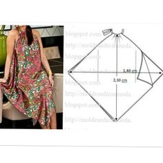 New Dress Pattern Free Sewing Fashion Templates 57 Ideas Fashion Sewing, Diy Fashion, Ideias Fashion, Diy Clothing, Sewing Clothes, Dress Sewing Patterns, Clothing Patterns, Costura Fashion, Diy Kleidung