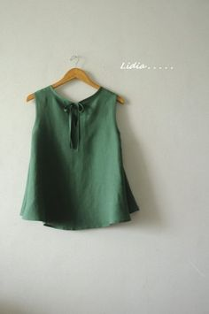 Fashion Sewing, Kids Fashion, Womens Fashion, Diy Dress, Diy Clothes, Blouses For Women, Summer Outfits, Cotton, Stitching