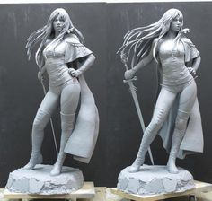 Luis Royo - Luz Malefic - Statue Forum