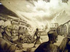 Execution of the Bab at Tabriz, July 9,1850