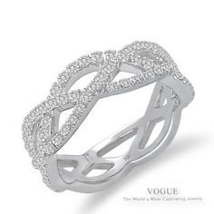 Image result for engagement ring weave