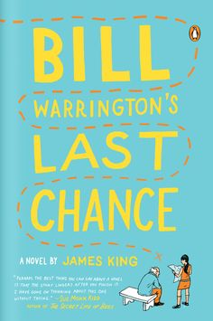 Book Cover Illustration and Hand Lettering for 'Bill Warrington's Last Chance'. © Jim Tierney 2012