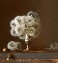 Dandelions are very cool looking. Maybe I could mix them in with other flowers for center pieces.