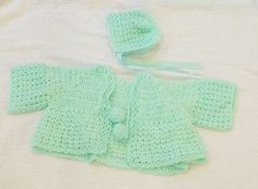 knitted baby sweater / knitted baby clothes / knitted baby hat /  baby clothes / knitted baby clothes on Etsy, $9.45