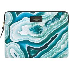 Designer Clothes, Shoes & Bags for Women Ipad Air Case, Ipad Sleeve, Laptop Accessories, Apple Ipad, Laptop Sleeves, Minerals, Laptop Cases, Blue, Polyvore