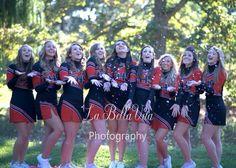 Senior picture ideas! Senior cheerleaders 2014 :-)