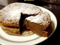 材料2個で簡単ガトーショコラ!の画像 Stevia, Bread Recipes, Cake Recipes, Coffee Break, Low Carb Keto, Chocolate Cake, Deserts, Food And Drink, Sweets