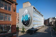 Stunning Murals by Swiss-based Artists Duo NEVERCREW