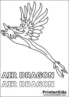 dragonvale air dragon adult coloring page - Dragonvale Dragons Coloring Pages