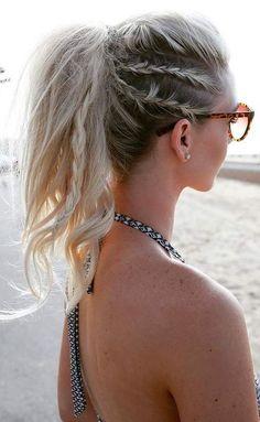 Easy, Stylish Geflochtene Frisuren für langes Haar, Inspiriert Kreative geflochtene Frisur