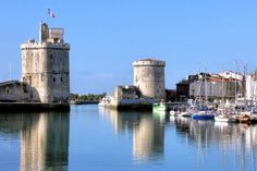 La Rochelle, on the Atlantic coast of France in the Charente-Maritime / Cognac region.  | Photo © Christiane Pichard