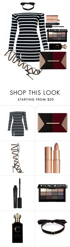 """""""Untitled #1594"""" by fabianarveloc ❤ liked on Polyvore featuring Dune, Gianvito Rossi, Charlotte Tilbury, Smashbox, Bobbi Brown Cosmetics, Clive Christian and Mateo"""