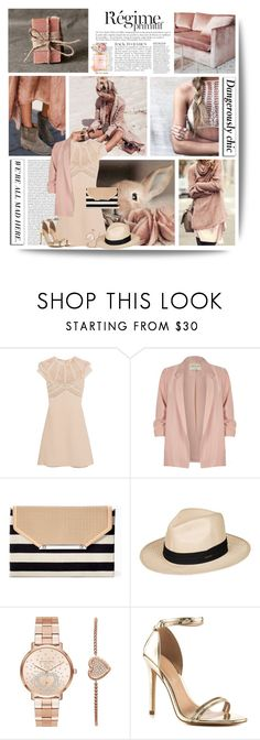 """""""Nothing is impossible, the word itself says """"I'm possible"""""""" by kikusek ❤ liked on Polyvore featuring Anja, Miu Miu, River Island, Stella & Dot, Roxy, Michael Kors, Chanel, ALDO and Kenneth Jay Lane"""