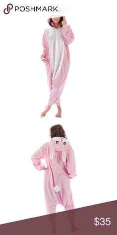 Adult bunny costume onesie pajamas 🐰 New with tags ❤️feel free to send offers ❤️ emolly Other