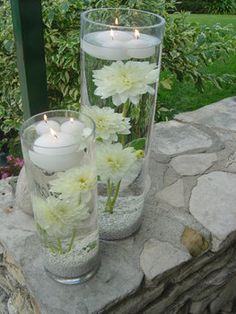 Wedding, Flowers, Reception, White, Ceremony, Bridesmaids, Empora floral artistry, Submerged white dahlias