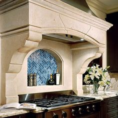 The Toulouse - Stone Range Hood | Francois & Co.