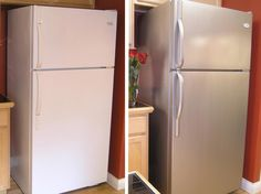 Stainless Steel Paint for appliances (and maybe countertop?) - 8 Things You Didn't Know You Could Paint | DIY Home Decor and Decorating Ideas