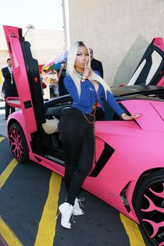 Nicki Minaj and her $400,000 Lamborghini