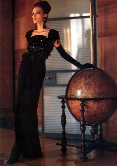 Vogue Germany Oct. 1992 feat Helena Barquilla