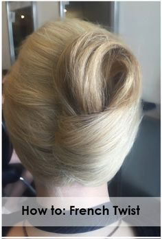 Follow this quick and easy step-by-step guide to creating the perfect French Twist hairstyle!