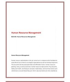 bus 303 human resource management complete Bus 303 original a+ homeworkmyecom  bus 303 entire course human resources management supportonlineexam438 bus 670 week 3 dq 2 administrative law and business.