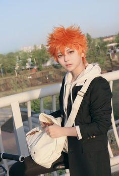 Cosplay do Shoyo Hinata Cosplay Anime, Haikyuu Cosplay, Cute Cosplay, Cosplay Makeup, Amazing Cosplay, Cosplay Outfits, Halloween Cosplay, Best Cosplay, Anime Outfits