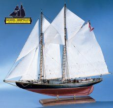 MS2130 - #Bluenose I   WANT A GREAT KIT TO INTRODUCE YOU TO OUR HOBBY? This is the kit.   http://www.castyouranchorhobby.com/item--Bluenose%20I--MS2130