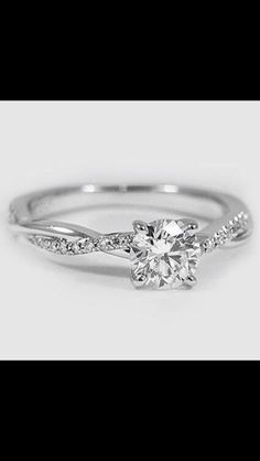 Engagement ring. I just like the setting on this one, not the square cut
