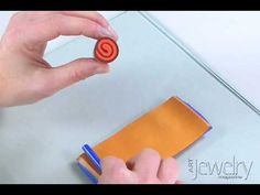 Learn how to make a simple polymer clay jellyroll cane. Find more videos at www.artjewelrymag.com/videos.