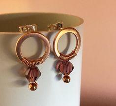 Birthstone Crystal Stud Earrings: You Choose The Colour