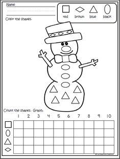 Snowman Shapes Graph
