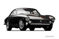 Regarded as one of the most beautiful Pininfarina designs, the Lusso, or GT/L, sold as a road-going car and directly benefited from the successful line of Ferrari 250 GTS