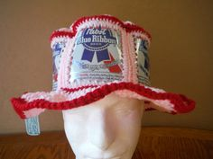 Perfect Valentine's Day Gift @ https://www.etsy.com/listing/219823712/new-crocheted-canhead-valentine-pink-and