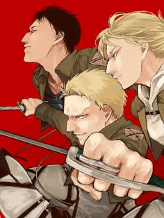 Attack on Titan | Shingeki no Kyojin - Bertolt Hoover, Annie Leonhart, Reiner Braun