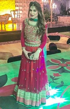 Mehndi Dress . Pakistani Bride ♡ ♥ ♡ .Pakistani Style. Follow me here MrZeshan Sadiq
