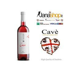 VINO CAVÈ, Vino Rosato dei Colli del Limbara IGT, 75 cl, 12° Alc. Prodotti Sardi