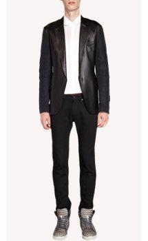 Lanvin Leather Front Jacket