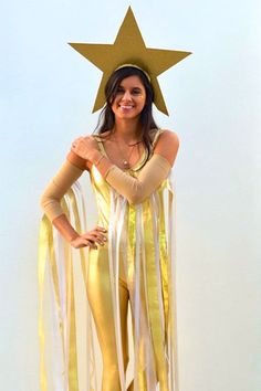 There's no need to spend a lot of money on a Halloween costume! Make your own this year with these easy and creative DIY costumes! Be the superstar you're destine to be with this shooting star costume! Click through for more DIY costumes!