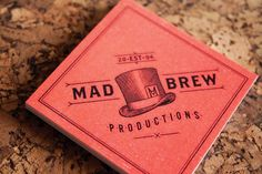 Mad Brew Business Card Design by Adam Hill